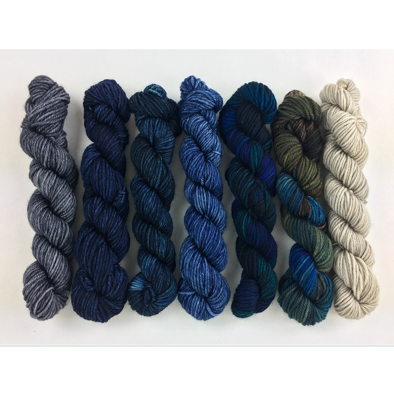 Mini Fade Color Pack - Round Trip   Dragonfly Fibers
